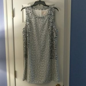 Skies Are Blue shift dress, never worn sz large
